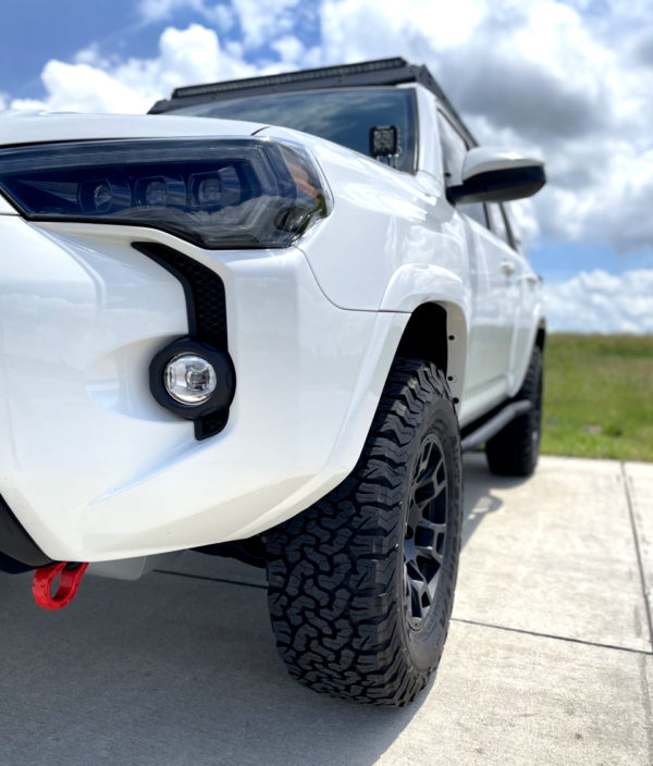 Flow Forged 4TR Pro Style - F246, 17x8.5 -10 Offset White Toyota 4Runner TRD Pro